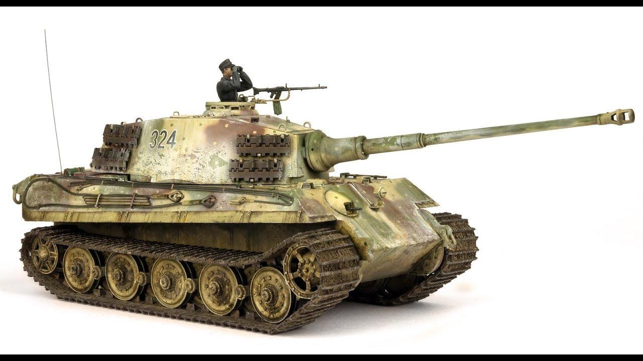 Buried King Tiger Tank