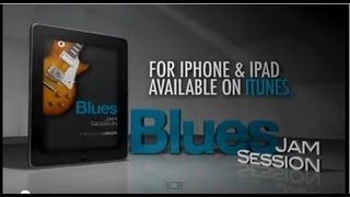 Free Blues Jam Session Guitar App From Licklibrary - For iPhone & iPad - Free Download