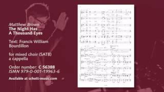 Matthew Brown - The Night Has A Thousand Eyes