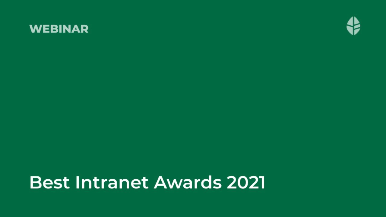 ThoughtFarmer Best Intranet Awards 2021
