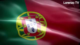 Hino Nacional de Portugal - A Portuguesa - Portugal vs Pais de Gales