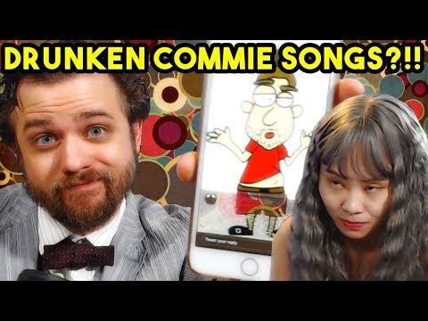 Emerican and Luna Get Wasted and Sing Communist Songs   BreadCast Highlights