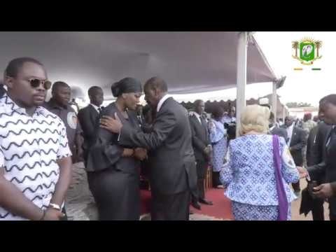 Cérémonie d'hommage et d'inhumation de Feu Charles Koffi DIBY