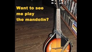 Practicing Copperhead Road by Steve Earle On My Mandolin