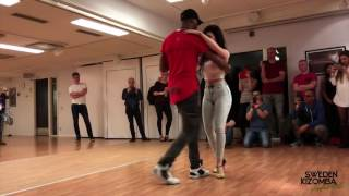Jazzy & Teresa Urban Kiz Dance @ Sweden Kizomba Festival 2017   Alicia Brito   Feel Safe