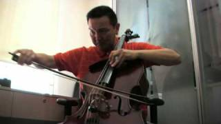 Wolf's theme - from Peter and the Wolf by Prokofieff (Prokofiev) - on Cello