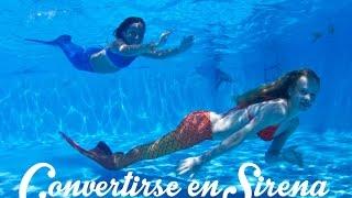 Cómo convertirse en Sirena - Escuela de Sirenas