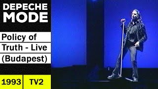 DEPECHE MODE Policy Of Truth (Live in Budapest 1993) - Excerpt