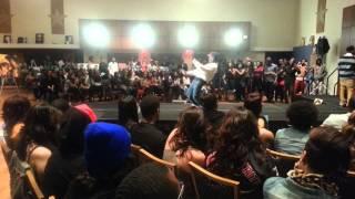 UTSA two man dance battle
