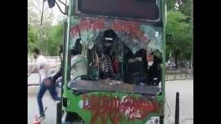 Taksim Gezi Parkında Piston aşağı indi şakası yapıldı