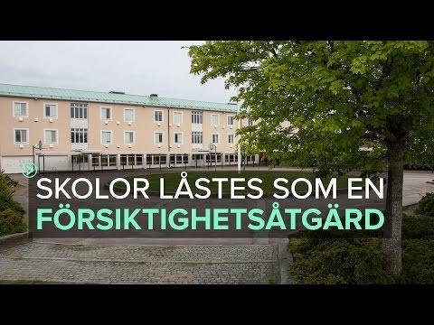 Kungälv - Skolor i Kungälv låstes som en försiktighetsåtgärd