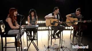 Skillet Performs 'Rise' Live At Billboard Studios