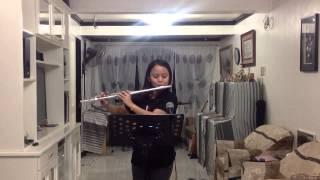 Happy  Birthday flute and violin