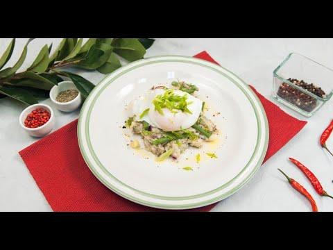 Тёплый картофельный салат и тапас со скумбрией | Дежурный по кухне
