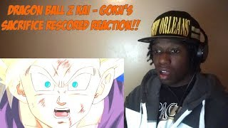 Dragon Ball Z Kai - Goku's Sacrifice Rescored REACTION!!