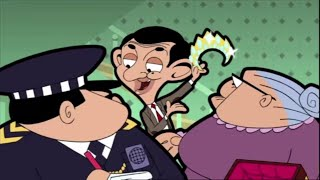 Wrongly Arrested | Mr. Bean Cartoon
