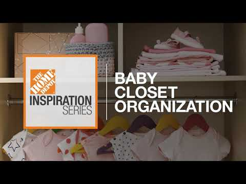 Watch this video for some baby closet storage ideas.