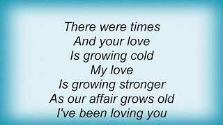 Seal - I've Been Loving You Too Long Lyrics