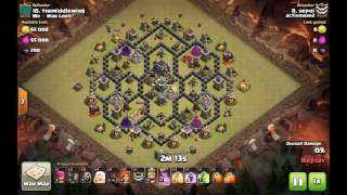 Th9 queen walk govaho on Beehive base