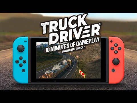 WTFF::: Truck Driver Sets Course For A November Release On Switch