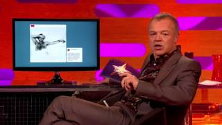 Stacey Nightmare's Hairy Chest Pinterest on the Graham Norton Show