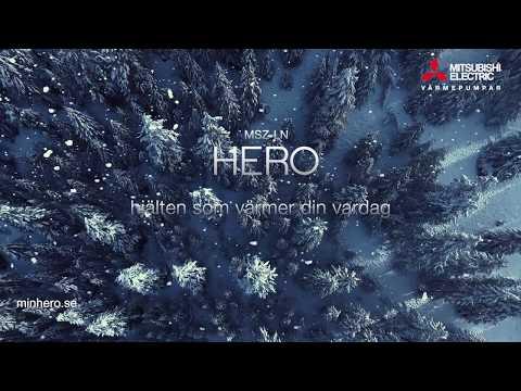 Hero - Värmepumpen med superegenskaper!