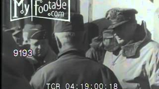 Korean War - MacArthur and U.N. Troops are Repulsed at Yalu River by Chinese Forces Stock Footage