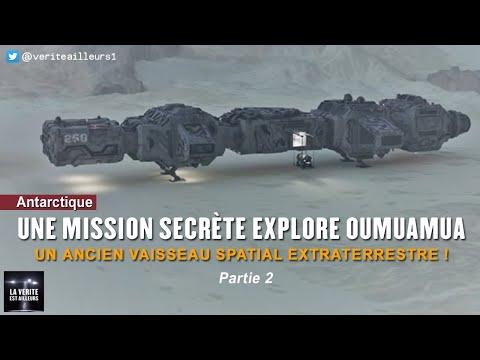 Nouvel Ordre Mondial - ★ Des initiés confirment une flotte spatiale secrète en Antarctique et la mission vers Oumuamua !