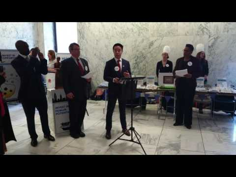 Human Services Bake Sale 3/22/17 - Brian Chen, Chinese-American Planning Council