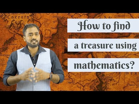 How to find a treasure using mathematics?