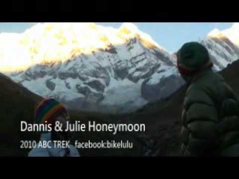 2010 AnnapurnaBaseCamp trek (Dannis&Julie honeymoon)