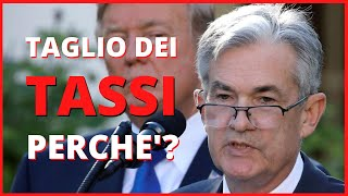 Perchè le banche centrali tagliano i tassi di interesse?