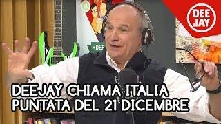 Deejay Chiama Italia, puntata del 21 dicembre 2018: Aldo Rock