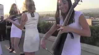 """Funkytown Cover - Los Angeles """"Electric Angels"""" String Quartet Event"""