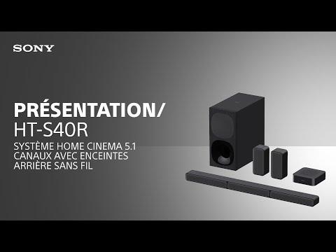 Découvrez la HT-S40R système Home Cinema 5.1 canaux avec enceintes arrière sans fil