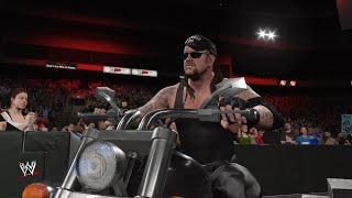 WWE 2K16: American Badass Undertaker Entrance (RAW is WAR 1999)