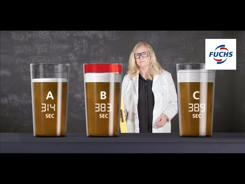 We test how lubricants affect the head on a glass of beer