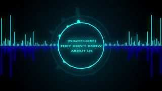 [Nightcore] They Don't Know About Us ~ Victoria Duffield ft. Cody Simpson