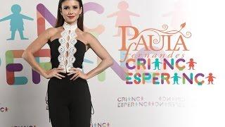 Paula Fernandes no Criança Esperança 2016