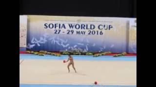 FILIOU Varvara GRE Ball AA - Sofia Word Cup 2016