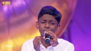 Super Singer Junior - Then Madurai Vaigai Nadhi by Bhavin width=