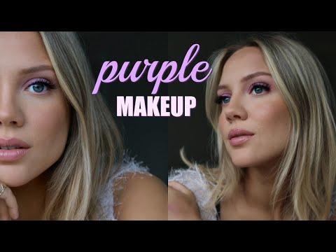 Purple/Lilac WEARABLE Makeup | Elanna Pecherle 2020