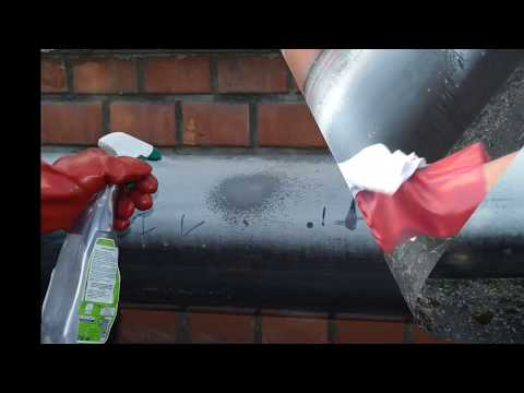 Surface fading of PVC pipes