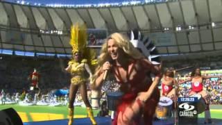 Shakira - La La La (Brazil 2014) [Live Closing at FIFA World Cup 2014] (Full HD 1080 & Sound)