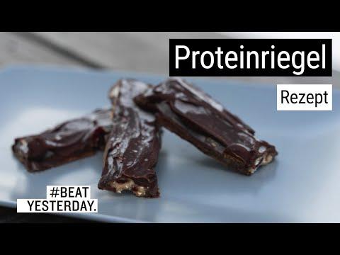 #BeatYesterday-Rezept: Selfmade-Proteinriegel
