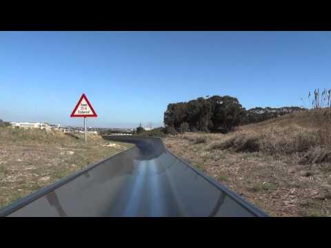Cool Runnings Toboggan Track in Cape Town – Downhill Run