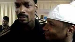 Jibbs & Snoop Backstage in France
