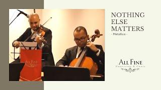 Metallica - Nothing else matters (All Fine Orquestra - Quarteto de cordas)