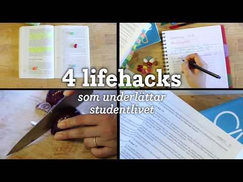 4 lifehacks som underlättar studentlivet
