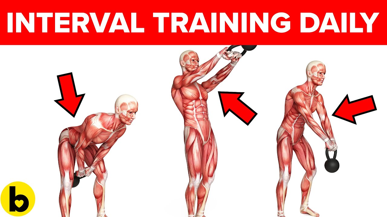 Do Interval Training and see what happens to your Body